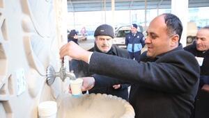Beyşehir Belediyesi'nden Esnafa Sıcak Çorba İkramı