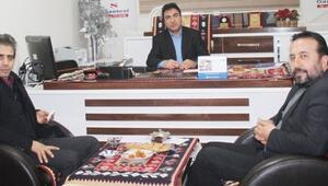 Vangölü Gazeteciler Cemiyeti'nden ABB'ye Ziyaret