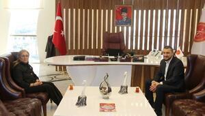 Milletvekili Mustafa Açıkgöz Rektör Kılıç'ı Ziyaret Etti