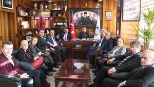 CHP İl Yönetiminden GMİS'e Ziyaret