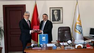 Milli Eğitim Şube Müdürü Güvendi'den Başkan Karakulluçu'ya Ziyaret