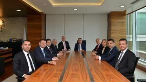 Ansiad Yeni Yönetimi, Başkan Böcek'i Ziyaret Etti