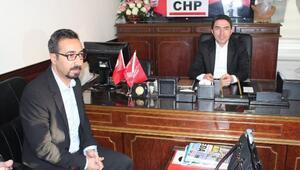 Eğitim-sen Şube Başkanı Kaya'dan CHP İl Başkanı Kiraz'a Ziyaret
