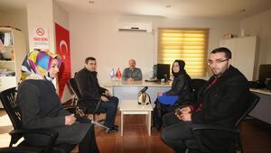 AK Partili gençlerden AAya ziyaret