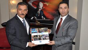 AA Bölge Müdürü Demirkol, Tunceli Valisi Kaymakı ziyaret etti