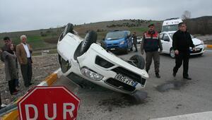 Boluda trafik kazası: 3 yaralı