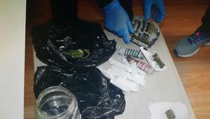 Balıkesirde uyuşturucu operasyonları: