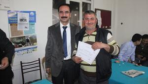 Ezinede Sürü Yöneticiliği Kursu belge töreni yapıldı