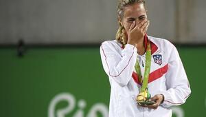 Tenis tek kadınlarda Monica Puig şampiyon