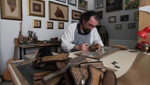 Deriyi sanatla buluşturdu gurbetçilerden ilgi gördü