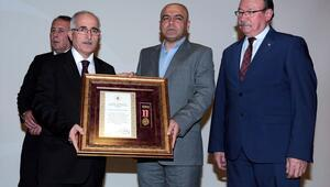 Eskişehirde Devlet Övünç Madalyası Tevcih Töreni