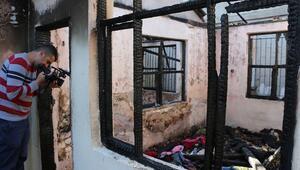 Antalyada Suriyeli çocuk yangında öldü