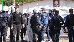 Üniversitede nevruz kutlamasına polis müdahalesi