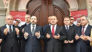 Yalçın Akdoğan: Brüksel'in güvenliği Ankara'nın güvenliğinden ayrı düşünülemez