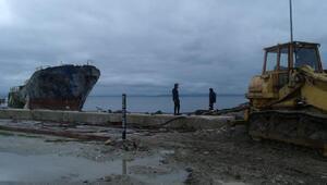 Erdekte batan Tanzanya gemisi denizden çıkarıldı