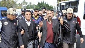 Antalyada PKK operasyonu şüphelileri adliyede