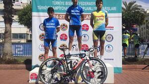 Selçuklu Belediyesi bisiklet takımı yeni başarılara imza attı