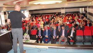 Suşehrinde dijital bağımlılık semineri