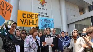 Mersinde AK Partili kadınlardan Kılıçdaroğluna tepki
