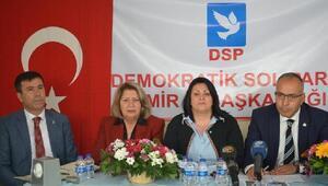 DSP İzmire Karahan başkan