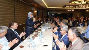 Bakan Ramazanoğlu, Denizli heyetini ağırladı