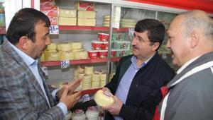 Vali Abdil Celil Öz, Tonya İlçesi'ni ziyaret etti