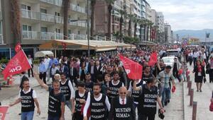 CHPden 23 Nisan yürüyüşü