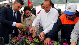 Başkan Duruay, fide ve tohumları toprakla buluşturdu
