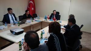 Tunus'taki Bölgesel Kalkınma Ajansları Temsilcileri AHİKA'yı ziyaret etti