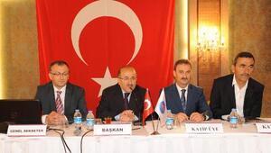 Gümrükçüoğlu yine DKBB başkanı seçildi