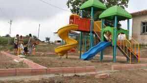 Köylerde sağlıklı yaşam için spor alanları oluşturuldu