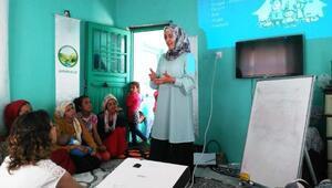 Halfetide kadın sağlık seminerleri veriliyor