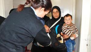 Dilenciliğe bebek ve çocukları da alet ediyorlar
