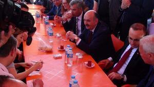 Bakan Müezzinoğlu hastane temel atma töreni için Lapsekide (2)