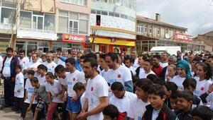 Karayazıda ilk halk koşusunda bayram coşkusu