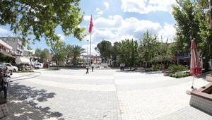Pınarbaşında Meydan ve Atatürk heykeli açılışı