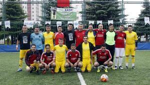 Kaski , merhum futbol hakemi Salih Ulu  adına 4. bahar futbol turnuvası yapıldı