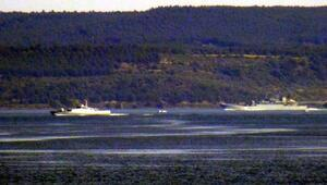 Rus Savaş gemisi Caesar Kunikov, Çanakkaleden geçti