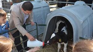 Çocuklar Dünya Süt Gününü kutladı