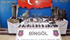 Bingölde 3 PKKlı ölü ele geçirildi
