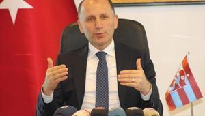 Trabzonspor Başkanı Usta: Bugün ayağa kalkma vakti