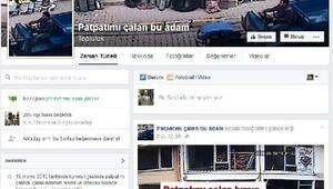Patpatını çalan hırsızı bulmak için sosyal medyada sayfa açtı