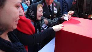 Binbaşı Cesurun cenazesi baba ocağı Muğlada (3)