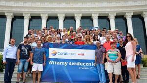 Coral Travel, Polonyalı VIP acente grubunu ağırladı