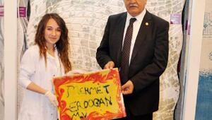Milletvekili Erdoğandan Halı Fuarına kutlama