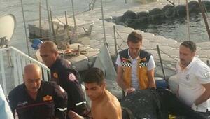 Suriyeli kadın intihar için Fırat Nehrine atladı