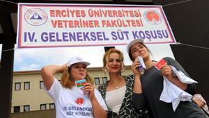 ERÜ'de 4. Süt Koşusu etkinliği düzenlendi