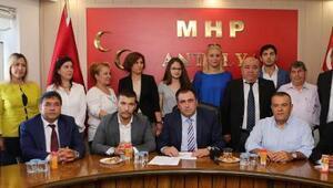 MHP Antalyaya yeni başkan