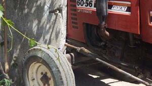 Traktörün altında kalan Suriyeli çocuk öldü