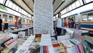 Haydarpaşa Tren Garı'nda düzenlenen Kitap Günleri başladı